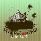 Illustration de Viva Revolucion. Vecteur illustration libre de droits