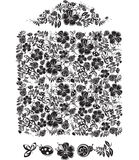 Illustration of decorative pattern. Royalty Free Stock Images