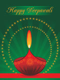 Illustration for deepavali celebration. Beautiful illustration for happy deepavali royalty free illustration