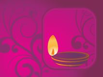 Illustration for deepawali celebration. Beautiful illustration for happy deepawali royalty free illustration