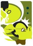 Illustration dentaire d'emblème médical Image stock