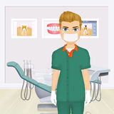 Illustration of dentist Royalty Free Stock Image
