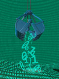 Data Mining Process Royalty Free Stock Photo