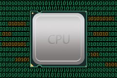Generic CPU Labeled with Bad Code Stock Images