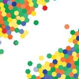 Illustration der abstrakten Beschaffenheit Lizenzfreies Stockbild