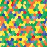 Illustration der abstrakten Beschaffenheit Stockbild