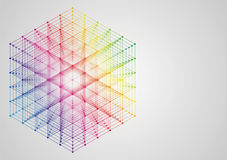 Illustration der abstrakten Technologie Stockfotos