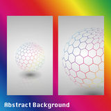Illustration der abstrakten Technologie Stockfoto