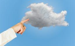 Illustration der Datenverarbeitungswebservicearchitektur der Wolke Lizenzfreie Stockfotos
