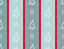 Illustration der frohen Weihnachten auf gestreiftem Hintergrund stockfoto