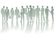 Leute bei der willkommenen Sitzung   Lizenzfreie Stockbilder