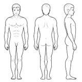 Illustration der Männerfigur Stockfotos