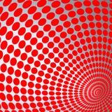 Illustration der optischen Täuschung Stockbild
