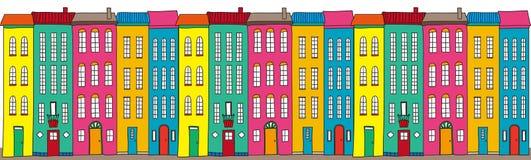 Illustration der Stadt Stockfoto