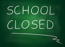 Schule geschlossen Lizenzfreie Stockfotografie