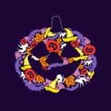 Illustration, der Tag von Halloween Lizenzfreie Stockbilder