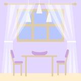 Illustration der Wohnungsreparatur lizenzfreie abbildung