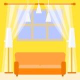 Illustration der Wohnungsreparatur Stockfotografie