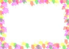 Illustration des abstrakten bunten Internatsschülers Stockfoto