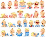 Illustration des Babys Lizenzfreie Stockfotos