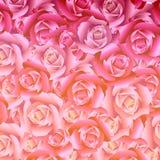 Illustration des Blumenstraußes des Rosenhintergrundes vektor abbildung