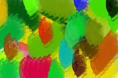 Illustration des bunten Hintergrundes in den hellen Farben Lizenzfreies Stockbild