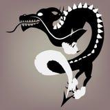 Illustration des chinesischen Drachen Stockbilder