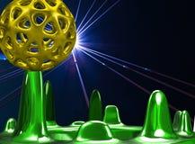 Illustration des Designs 3D Stockfoto