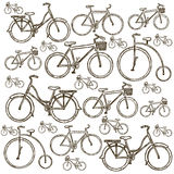 Illustration des Fahrrades Stockfotografie
