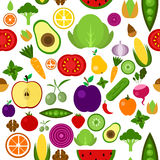 Illustration des fruits plats de conception et Photo libre de droits