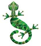 Illustration des Geckos Lizenzfreies Stockbild