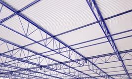 Illustration des Industriegebäude-Metalldach-3d Lizenzfreies Stockfoto