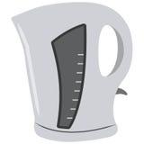 Illustration des Kessels, auf weißem Hintergrund Lizenzfreie Stockfotografie