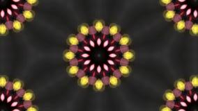 Illustration des nahtlosen Blumen-Muster-Hintergrundes Stockfotos