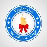 Illustration des Patriot-Tageshintergrundes Stockbilder