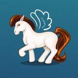 Illustration des schönen Ponys Lizenzfreies Stockfoto