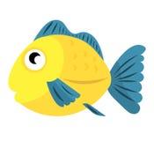 Illustration des Seefisches Stockfoto