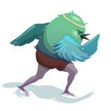 Illustration des Spatzen läufer Lizenzfreies Stockfoto