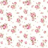 Illustration des Wiederholens von Rose Pattern Flora Bouquet Paintings ha Lizenzfreie Stockfotografie