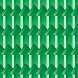 3d arrow up green seamless pattern. This illustration is design 3d arrow up with green color background symmetry seamless pattern stock illustration