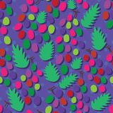 Grape dot seamless pattern Royalty Free Stock Photo