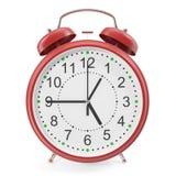 Illustration of desktop alarm clock Stock Image