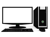 Desktop computer Stock Photos