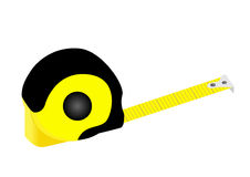 Illustration of a detailed tape measure Royalty Free Stock Photography