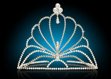 Illustration diadem feminine Royalty Free Stock Images