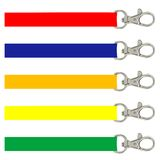 Lanyard. Illustration of different color lanyards Stock Photography