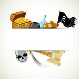 Pirate elements Royalty Free Stock Photos