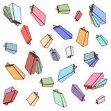 Illustration of different shopping bag on sale background vector illustration