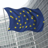 Illustration of diversity in the European Union Royalty Free Stock Images