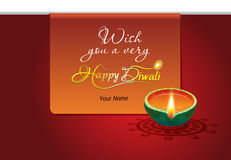 Illustration of diwali celebration Stock Photography